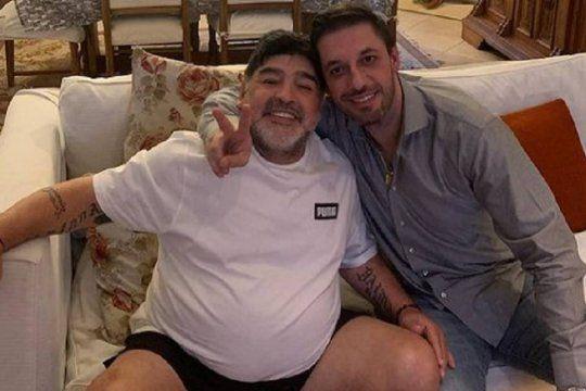 Aparecieron registros de la marca Maradona a nombre de Matías Morla y su cuñado Maximiliano.
