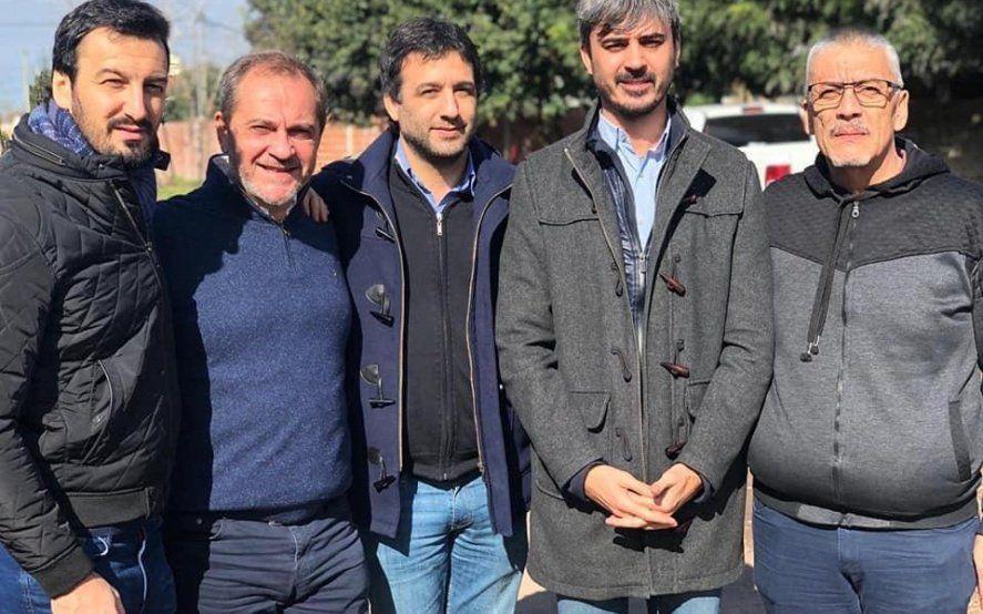 Referentes de la UCR llegaron a Merlo para apoyar a uno de los precandidatos del PRO