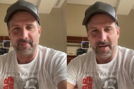 José María Listorti publicó un nuevo video tras recibir el alta médica