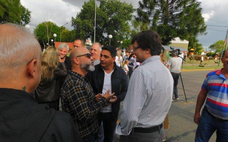 En Morón, una protesta unió a los tres referentes del peronismo contra Tagliafierro