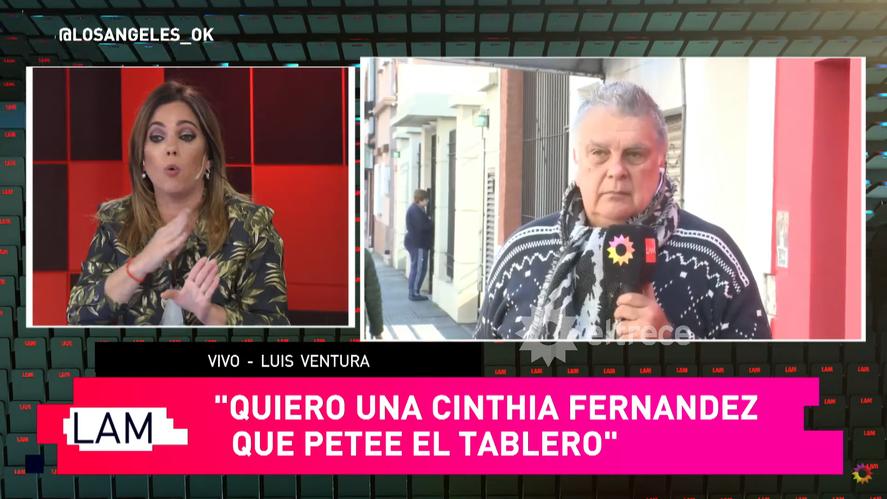 Cinthia Fernández quedó expuesta por un insólito error