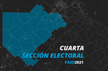 El Frente de Todos ganó las elecciones PASO en la cuarta sección electoral de la provincia de Buenos Aires.