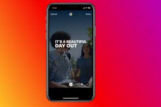 Captions de Instagram empezará a aparecer de manera paulatina en los celulares de los usuarios en los próximos meses.