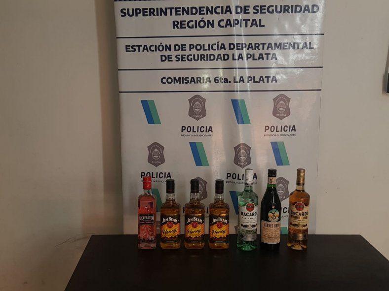 La Plata: Intentó robar bebidas alcohólicas de Walmart