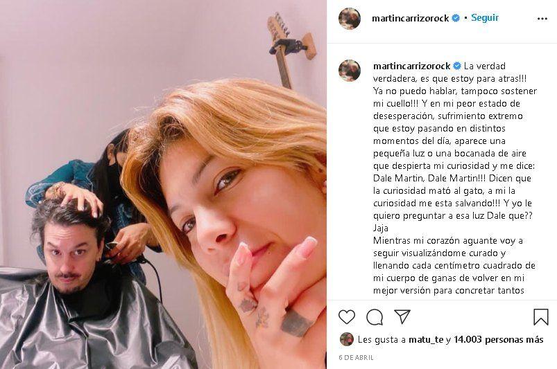 Martín Carrizo padece la misma enfermedad que Esteban Bullrich