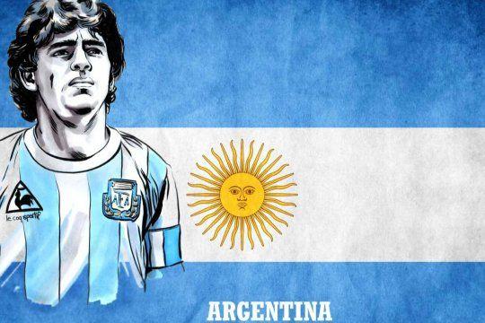 Si fuera por algunos fanáticos le cambiarían el nombre al país por República Maradona