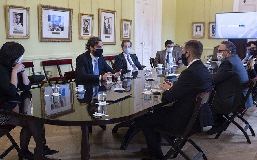 Reunión del gabinete económico con la recuperación post pandemia en la mira