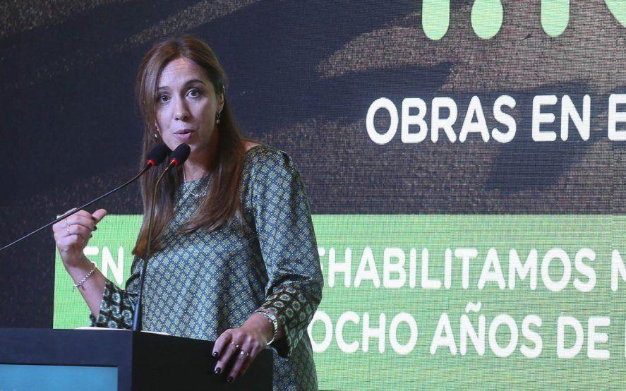 """""""Marketing"""" y anuncios """"falsos"""": rechazo de la oposición a las medidas de María Eugenia Vidal"""