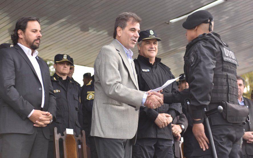 Ritondo participó del egreso de 300 nuevos efectivos de la UTOI