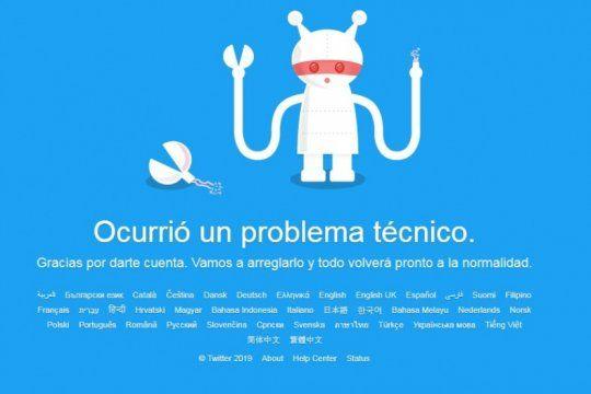 ¡se cayo twitter! usuarios de todo el mundo reportan fallas tecnicas en la red social
