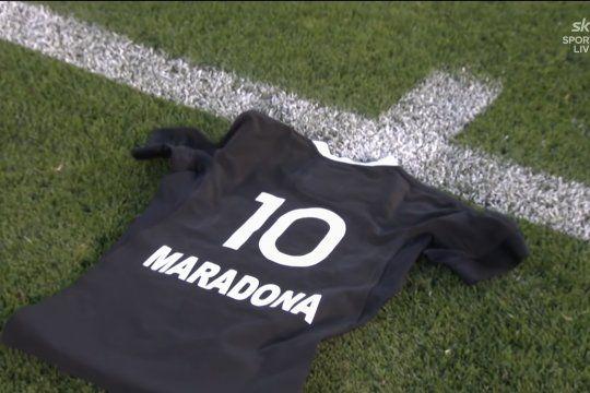 los all blacks homenajearon con un haka a maradona en la previa del partido contra los pumas