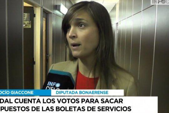 tarifas: giacone y martinez anticiparon que daran quorum y votaran el proyecto de vidal