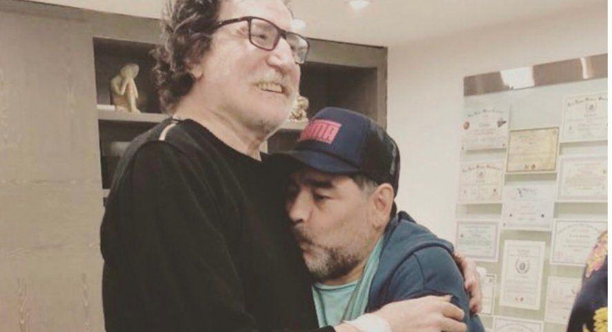 Charly García despidió a Diego Maradona con una estremecedora carta