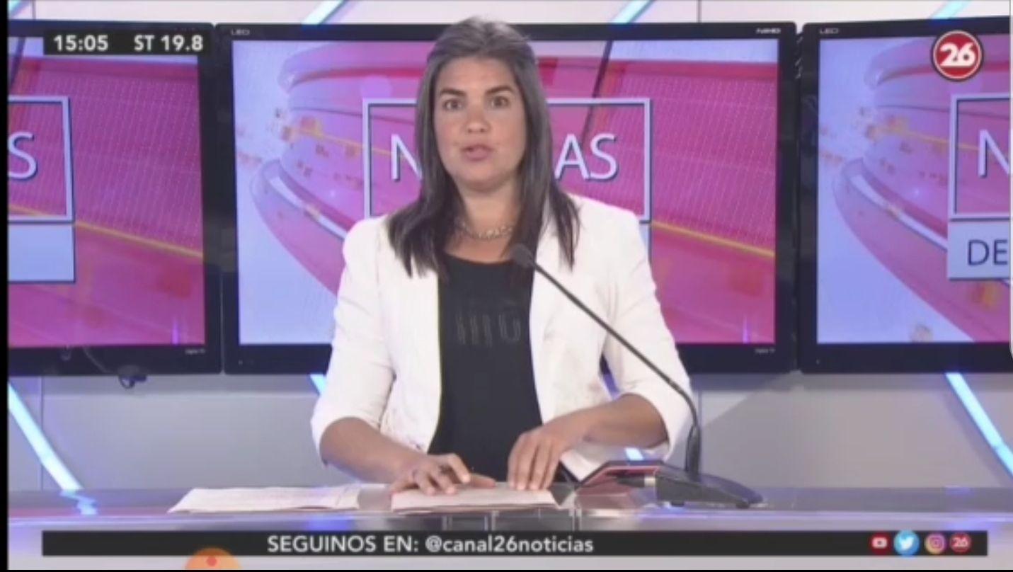 locutora de canal 26 que es fan de donald trump se indigna al aire