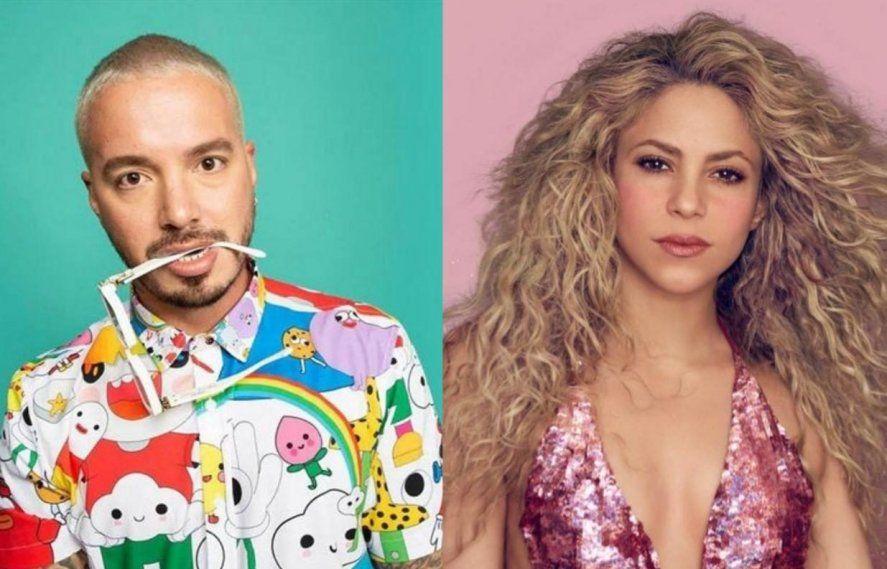 J Balvin y Shakira en contra de la brutalidad que se vive hoy en Colombia.