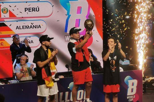 insolito: el presidente de peru felicito al campeon del mundial de globos