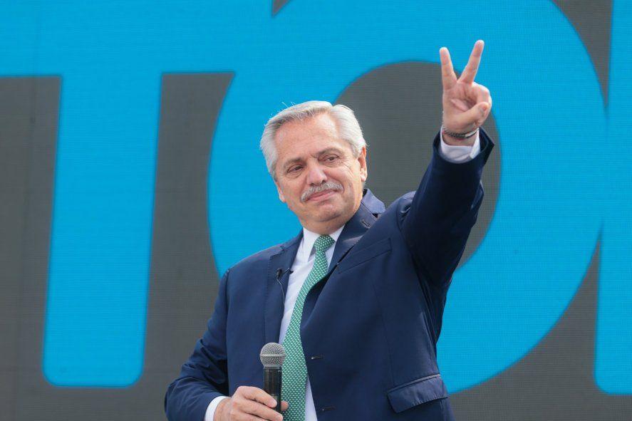 El presidente Alberto Fernández anunció que girará el presupuesto 2022 al Congreso.