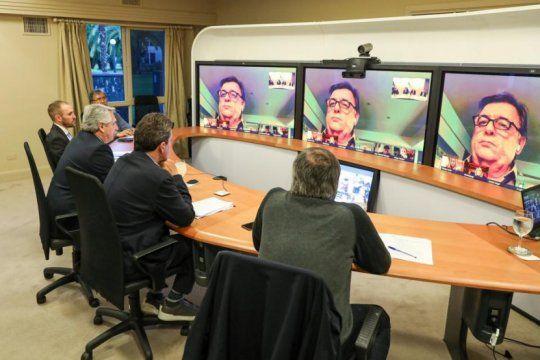 alberto fernandez se reunio con los jefes de bloques de diputados