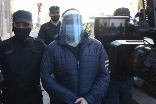 Nicolás Pérez, uno de los policías imputados por la extorsión en Bahía Blanca