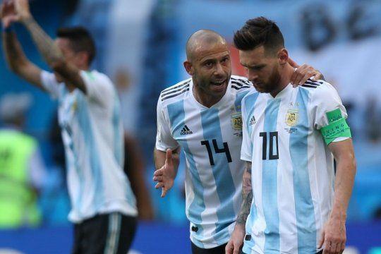 Mascherano y Messi en tiempos de Selección: se viene un modelo Barcelona para la albiceleste.