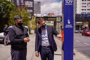 Jorge Macri y Diego Santilli, los dos candidatos PRO de Juntos por el Cambio para las elecciones en la Provincia.