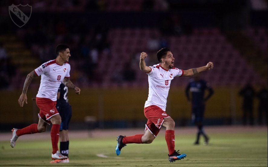 Horario, formaciones y TV: Independiente juega en Avellaneda por los cuartos de la Copa Sudamericana