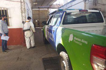 Presos de la Unidad 5 repararon dos patrulleros para la Policía Bonaerense