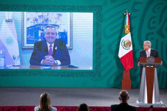 Videoconferencia entre Alberto Fernández y López Obrador: Argentina y México producen sus propias vacunas AstraZeneca