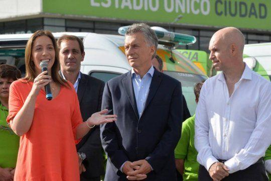 es oficial: macri traspasa el costo politico de los tarifazos a vidal y a rodriguez larreta