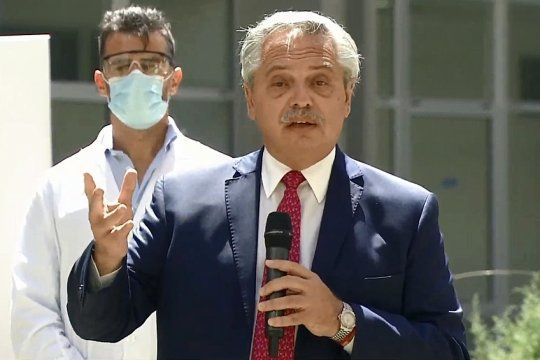 Ha llegado el momento de revisar lo que ha pasado en la Justicia, expresó Alberto en un acto en Ituzaingó.