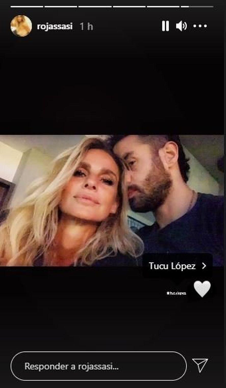 La primera foto de Sabrina Rojas y el Tucu López juntos