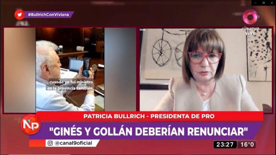 En una entrevista con Viviana Canosa