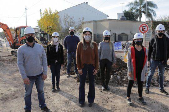 malena galmarini reactivo obras de cloacas para 12 mil vecinos de general pacheco