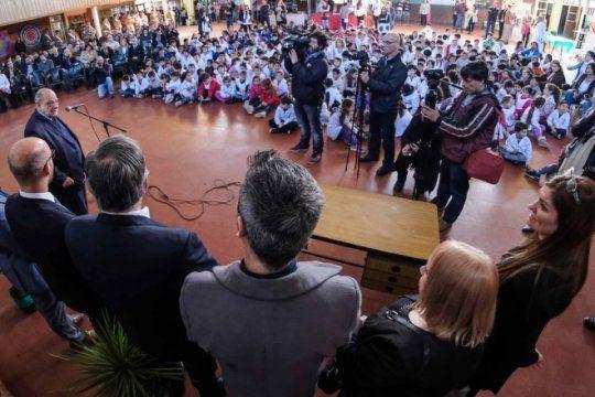 en mar del plata inauguraron una escuela sustentable y al otro dia la municipalidad se llevo las plantas