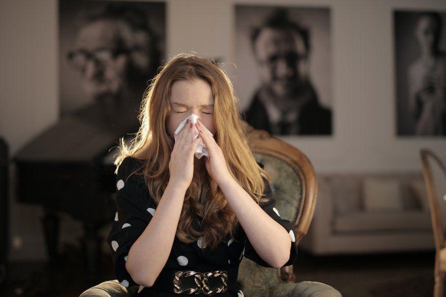Las alergias estacionales más comunes son la rinitis