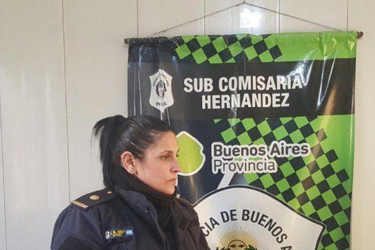 Jimena Brey era titular de la seccional en Hernández y ahora lo es en Gonnet