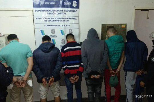 Altos de San Lorenzo: seis detenidos luego de un intento de entradera y una persecución