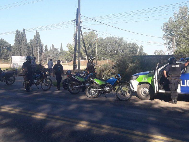 El robo fue cometido en la calle Juan Manuel de Rosas S/N de Pergamino
