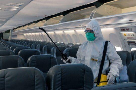 como es el nuevo protocolo sanitario que diseno aerolineas argentinas para reanudar sus vuelos