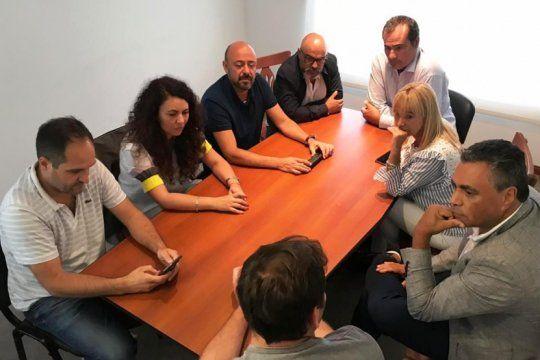 diputados peronistas desembarcaron en la primera de cara al armado electoral