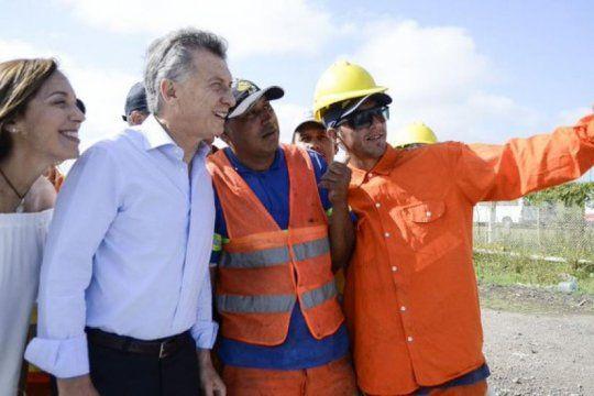un dia despues de la visita de macri y vidal, 40 trabajadores fueron despedidos en la ruta 7