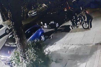 El robo de la moto fue en 16 y 40