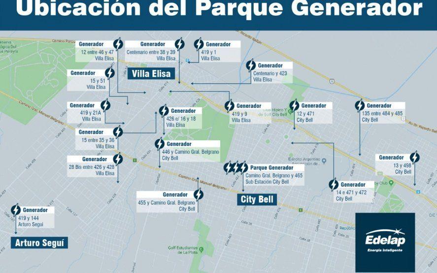 Edelap comenzará tareas para mejorar el servicio de energía eléctrica en la zona norte de La Plata