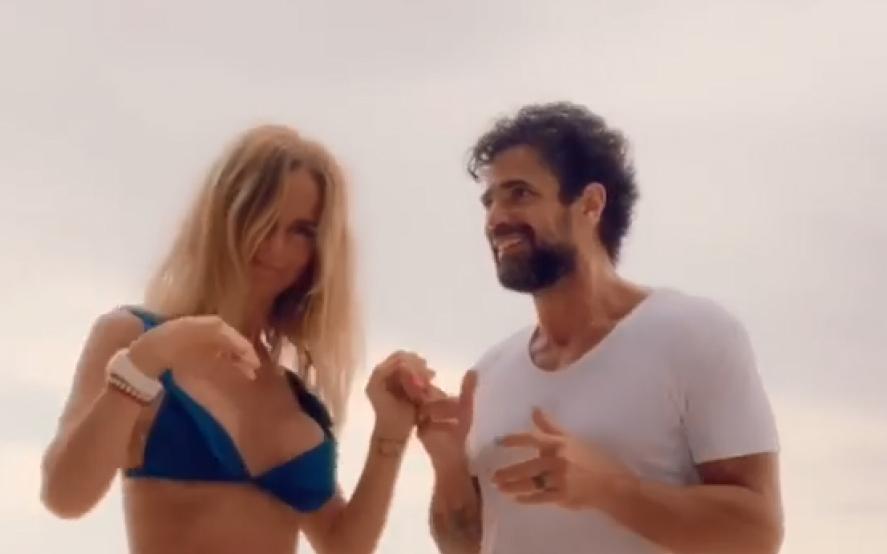 El baile sensual de Luciano Castro y Sabrina Rojas en Brasil que encendió las redes