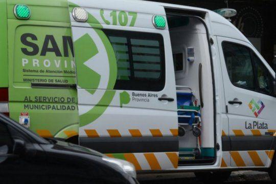 El accidente fue en 6 entre 49 y 50 de La Plata