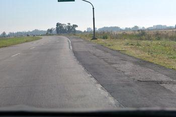 El golpe armado fue en la ruta 6 a la altura de San Vicente
