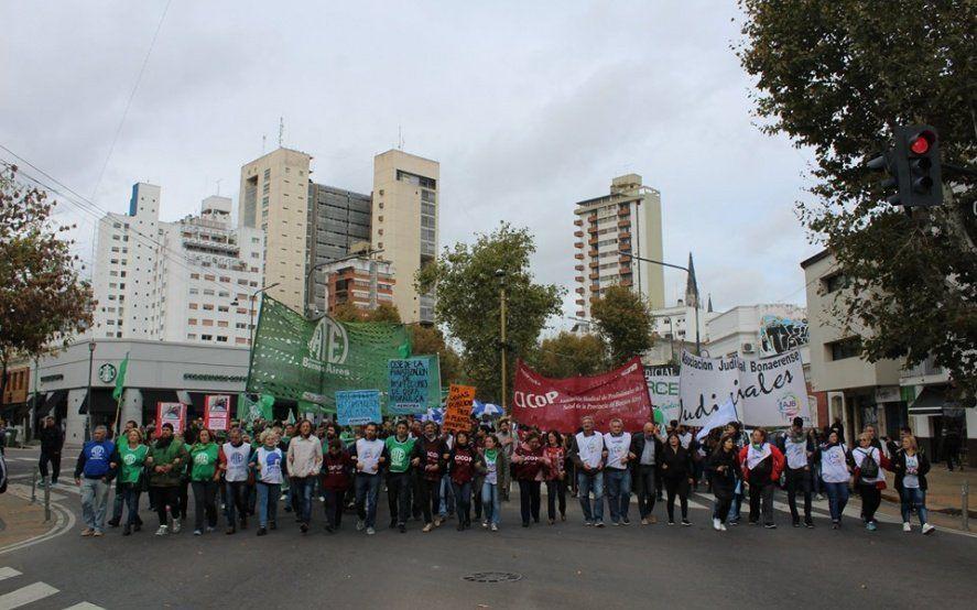 """Tras el paro y movilización, estatales denunciaron que el gobierno """"nos condenó a salarios miserables"""""""