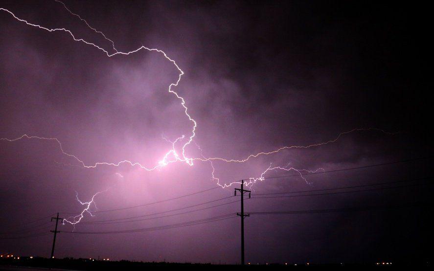 Alerta meteorológico por tormentas fuertes con posibles ráfagas y granizo en el centro bonaerense