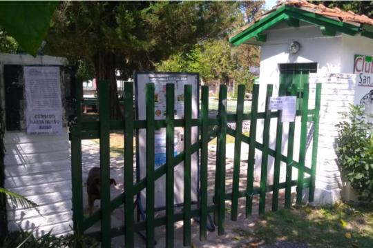 Robos en medio de la pandemia: Desvalijaron un club de barrio en Villa Elisa