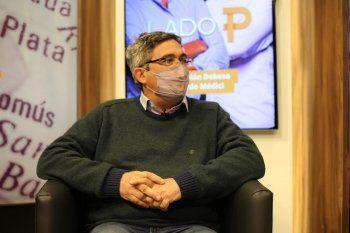 Javier Rodríguez, ministro de Desarrollo Agrario, en LAdo P